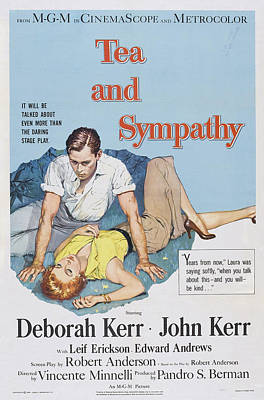 Tea And Sympathy, Us Poster Art Poster by Everett