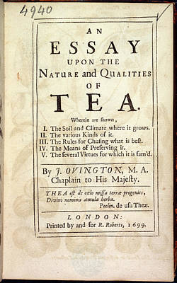Tea Poster by British Library