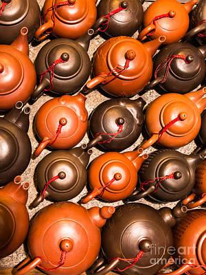 Tea Pots Poster