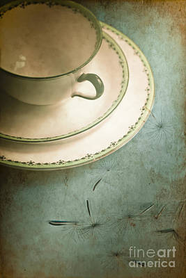 Tea Time Poster by Jan Bickerton