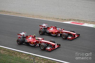 Team Ferrari Poster