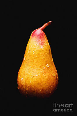 Tears Of A Sad Pear Poster