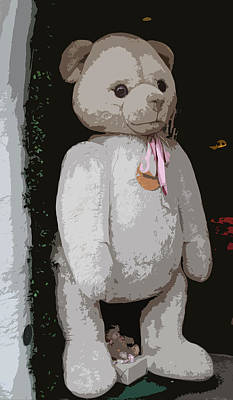Teddy Bear Poster by Christiane Schulze Art And Photography