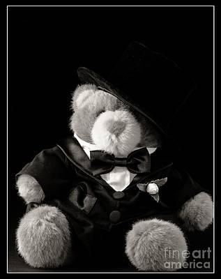Teddy Bear Groom Poster