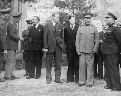 Teheran Conference, 1943 Poster