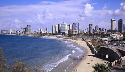 Tel Aviv Beach Poster