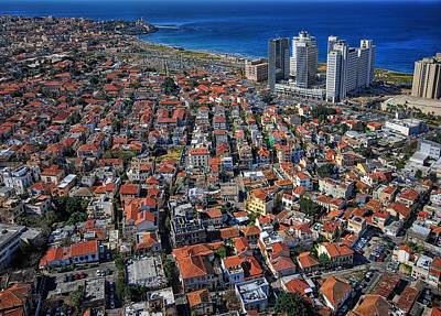 Tel Aviv - The First Neighboorhoods Poster