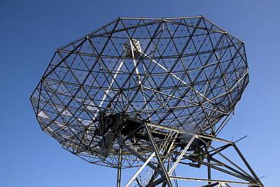 Telescope In The National Park Dwingelderveld Poster