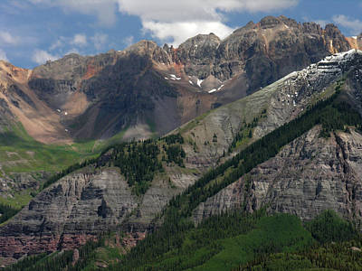 Poster featuring the photograph Telluride Box Canyon by Robert Lozen