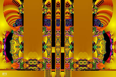 Temple Entrance Poster by Jim Pavelle