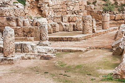 Temple Of Hera Poster by Gabriela Insuratelu