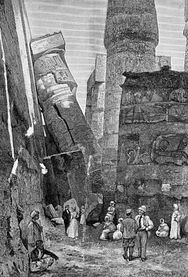 Temple Of Karnak Poster by Bildagentur-online/tschanz