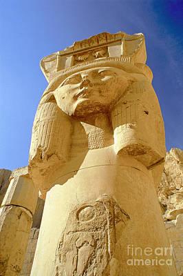 Temple Of Queen Hatshepsut Poster by Adam Sylvester