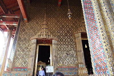 Temple Of The Emerald Buddha - Grand Palace In Bangkok Thailand - 01139 Poster