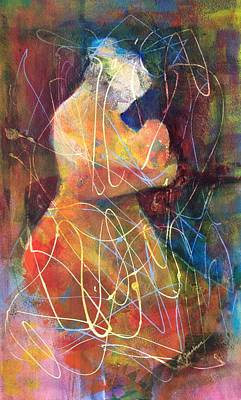 Tender Moment Poster by Marilyn Jacobson