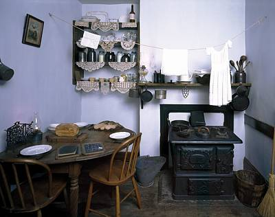 Tenement Museum Kitchen Display Poster by Science Photo Library