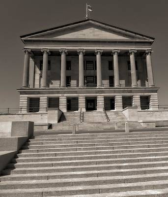 Tennessee Capitol Building Poster by Dan Sproul