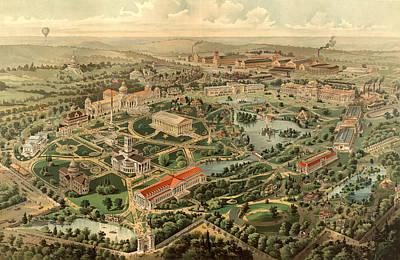 Tennessee Centennial Exposition, Nashville Poster