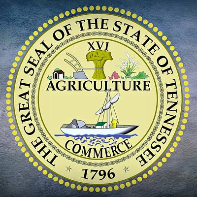 Tennessee State Seal Poster