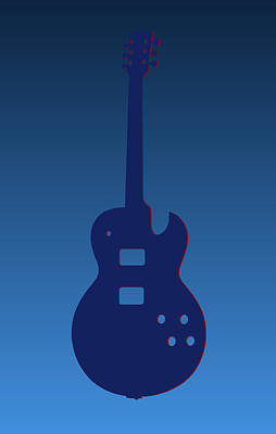 Tennessee Titans Guitar Poster