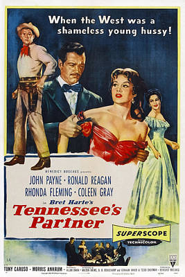 Tennessees Partner, Us Poster Poster by Everett