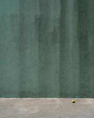 Tennis Ball Poster by Stuart Hicks