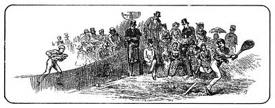 Tennis Wimbledon, 1879 Poster