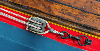 Tension On The Sailing Vessel Poster