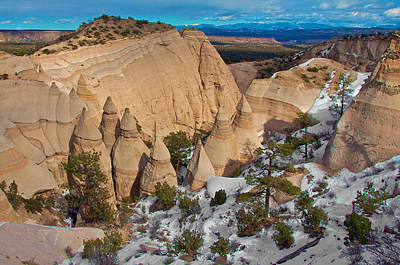 Poster featuring the photograph Tent Rocks National Monument by Britt Runyon