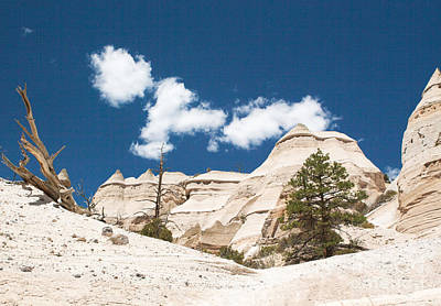 Poster featuring the photograph High Noon At Tent Rocks by Roselynne Broussard