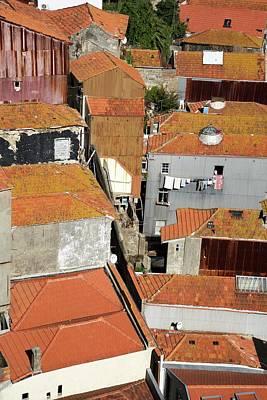 Terracotta Roof Tiles Poster
