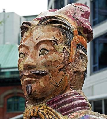 Terracotta Warrior Head Poster by David Oberman