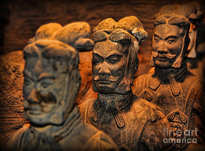 Terracotta Warriors - The Emperor's Army Poster by Lee Dos Santos