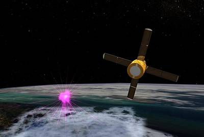 Terrestrial Gamma-ray Flash Poster by Nasa