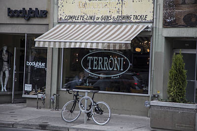 Terroni Restaurant In Toronto Canada  Poster by John McGraw