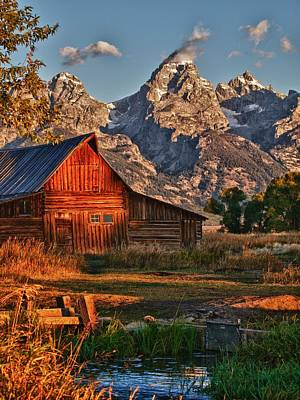 Poster featuring the photograph Teton Sunrise by Rob Wilson