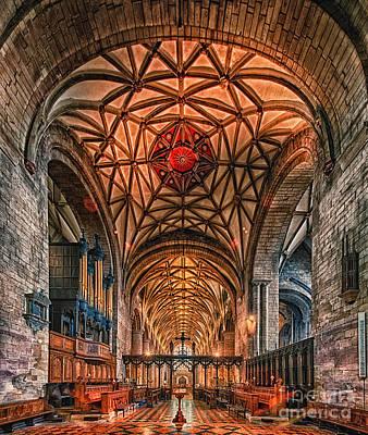 Tewkesbury Abbey IIII Poster