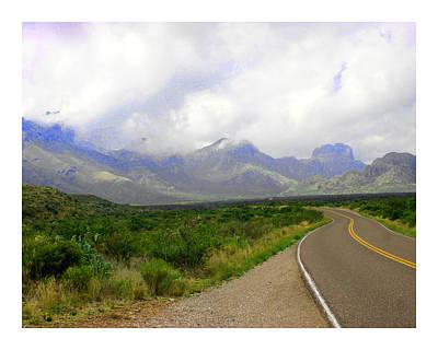 Texas Border Highway  Poster