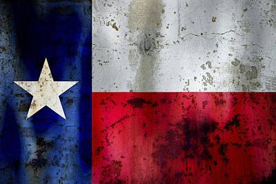 Texas Lone Star Flag Poster
