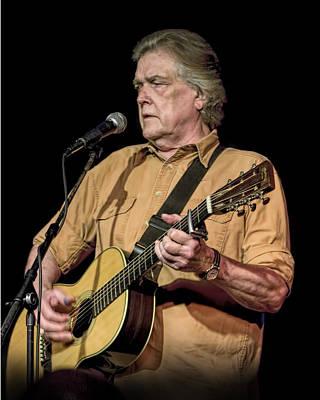 Texas Singer Songwriter Guy Clark Poster
