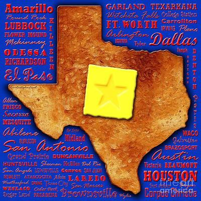 Texas Toast Poster