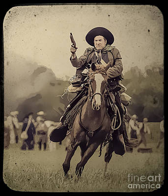Texican Cavalry Poster by Kim Henderson
