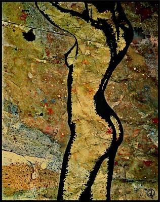 Texture Experiment Poster by Gun Legler
