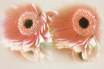 Textured Floral Artwork Poster by Eden Baed