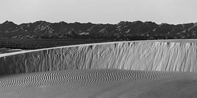 Textures Of Dune Poster