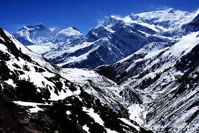 The Annapurna Circuit - The Himalayas Poster by Aidan Moran