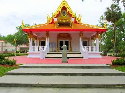 Thai Buddhist Temple I Poster