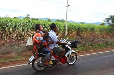 Thailand Transportation - 01131 Poster