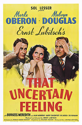 That Uncertain Feeling, From Left Poster by Everett