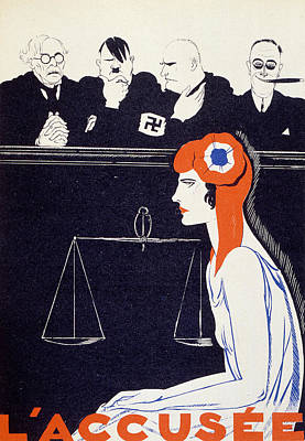 The Accused Poster by Paul Iribe